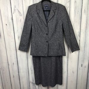 Preston York Skirt Suit Blazer and Skirt Lined